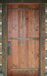 Rustic Door finished by Legendary Finishes